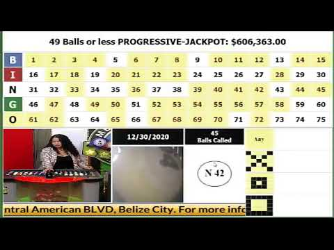 MEGA BINGO DRAW 12-30-2020...JACKPOT IS $606,363.00..ADS ARE MUTED TO AVOID COPYRIGHT INFRINGEMENT