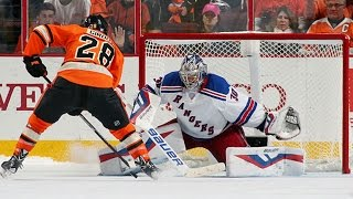Giroux uses beautiful move to beat Lundqvist in shootout