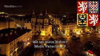 national anthem of the czech republic czechia kde domov můj wo ist mein heim german version