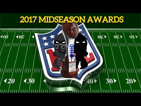 2017 NOOBFOOTBALL NFL MIDSEASON AWARDS!-DISCUSSION OF INSANE TRADE DEADLINE AND PLAYOFF PICTURE!