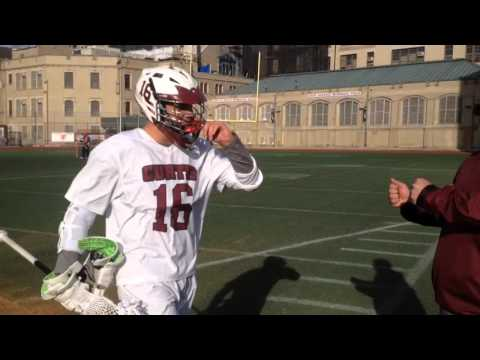 Curtis High School lacrosse senior standout Tyler Robertson excels on field
