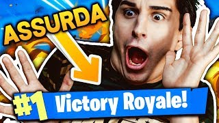 A REAL ASSURDA VITTORY!! SPACCO ALL! Fortnite Battle Royale
