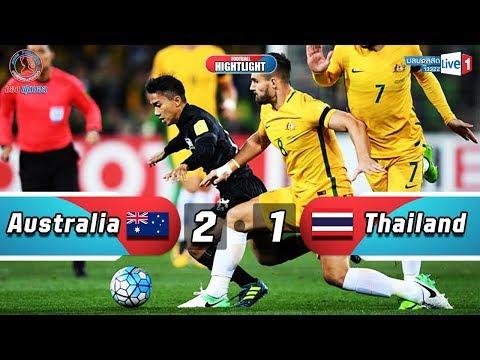 ทำดีที่สุดแล้ว ! ( ออสเตรเลีย 2 - 1 ไทย ) ไฮไลท์เต็ม บอลโลกรอบคัดเลือกนัดสุดท้าย