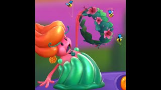 Jelly Queen Spring Costume Demo - Candy Crush Friends Saga Characters screenshot 4