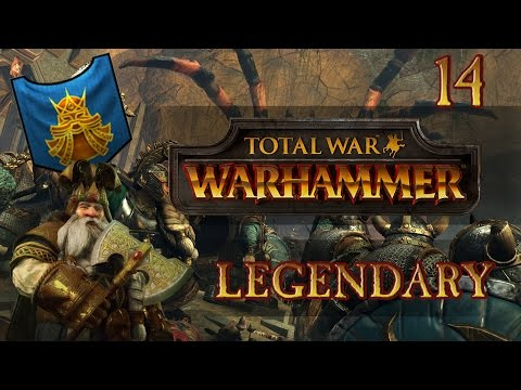 Total War: Warhammer (Legendary) - Dwarfs - Ep.14 - Confederation!