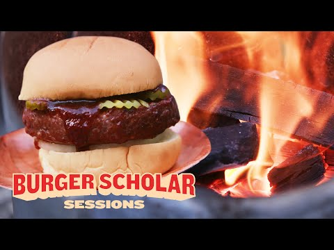 How to Cook a Texas-Style Smoked Burger with George Motz | Burger Scholar Sessions