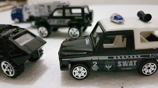 Police Cars for Kids SWAT Team Collection Super die Cast Set Cars Video for Kids