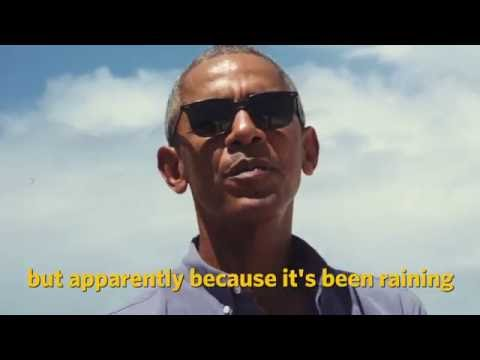 President Obama visits Midway Atoll