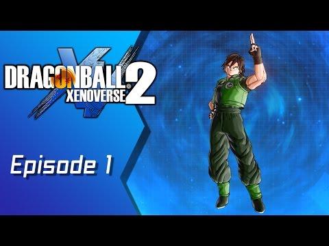 Dragon Ball Xenoverse 2 (Male Earthling) - Episode 1: Back to Basics