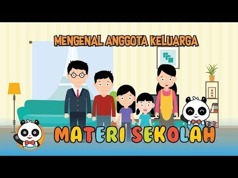 [Video Edukasi Anak] Pembelajaran Untuk Toddler : Mengenal Anggota Keluarga ( My Family )