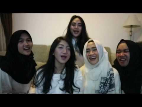 Cinta Tak Mungkin Berhenti - Tangga (cover by Tiara, Anita, Meisa, Rica, Levana)
