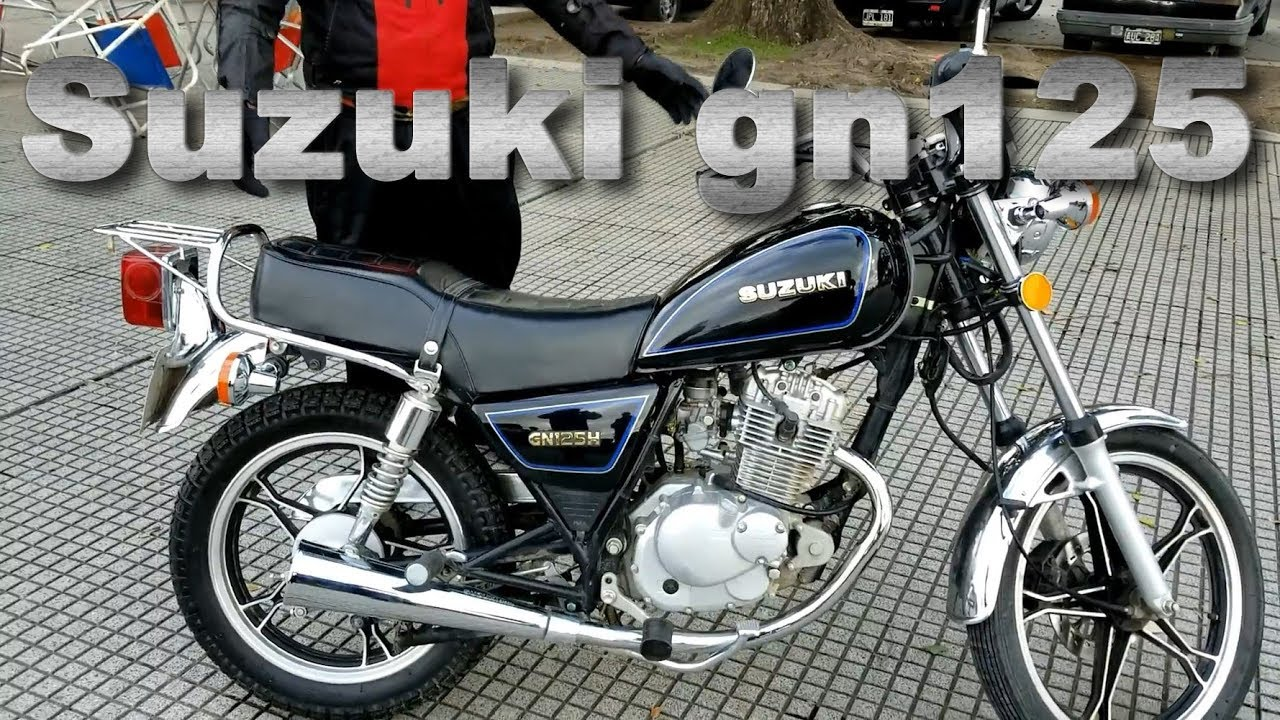 Review Suzuki GN 125 h - YouTube
