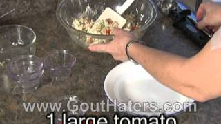 Gout Hater's Cookbook Chicken Salad Stuffed Tomato Recipe