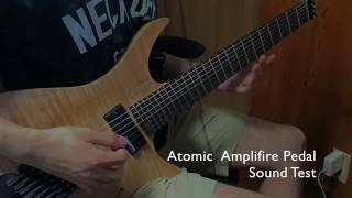 Atomic Amplifire Pedal × .strandberg* demo +presets