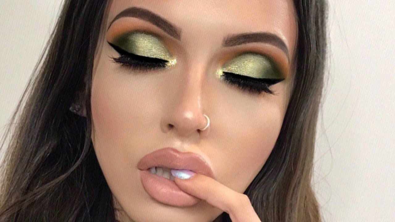 Abh Subculture Palette Olive Green Smokey Eye Look Youtube
