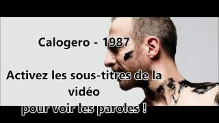 Calogero -  1987 (PAROLES)