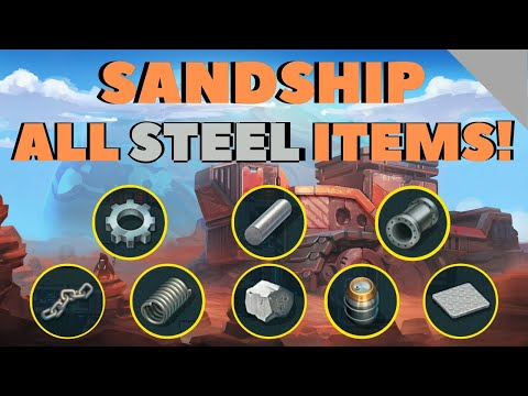 SANDSHIP CRAFTING FACTORY: The BEST Strategy for Steel Production! [HD]
