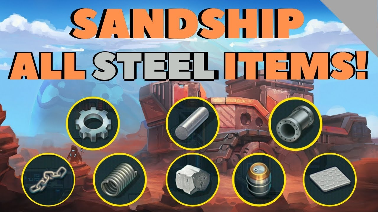 Download SANDSHIP CRAFTING FACTORY: The BEST Strategy for Steel Production! [HD]
