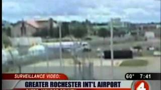 Video from blast at Rochester Airport