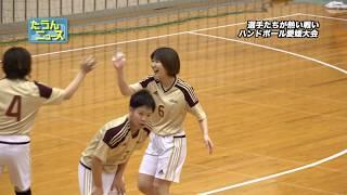 【4K】たうんニュース2020年2月「愛媛県ハンドボール選手権大会」