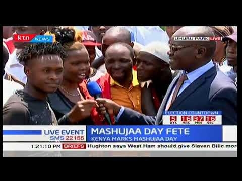 Kenyans react to President Uhuru's speech during Mashujaa daj celebrations