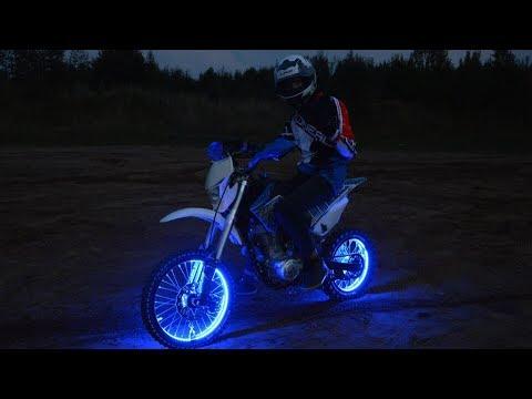 Подсветка колес ПИТБАЙКА