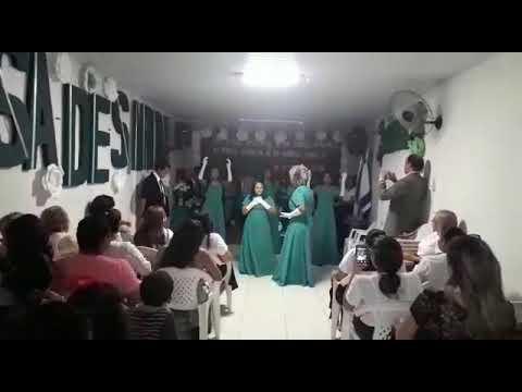 Coreografia O Meu Deus é O Teu Deus - Amanda Ferrari / Adoradoras Por Excelência