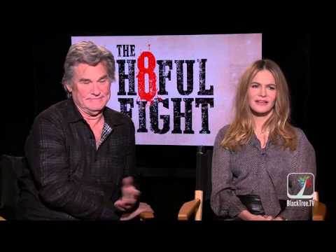 The H8ful Eight Interviews w/ Kurt Russell and Jennifer Jason Leigh