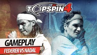 Top Spin 4 - Federer VS Nadal (Clay/Very Hard)