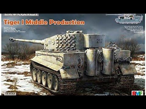 Rye field models Tiger tank part 6