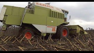 Fall - Jesień 2014 - Claas Dorminator 98Sl, HTZ T-150, New Holland Td5.95