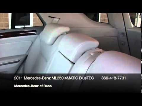 2011 Mercedes-Benz M-Class 4MATIC 4dr ML350 BlueTEC SUV - Reno, NV