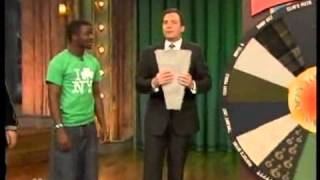 Jimmy Fallon - Wheel Of Carpet Samples