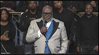 """Joint New Year's Revival 2019, Bishop T.D. Jakes """"I Got A Grip On It!"""" (Praise Break)"""