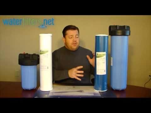 Pentek RFC-20BB And GAC-20BB Water Filters