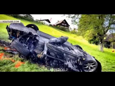 Экс-ведущий Top Gear Ричард Хаммонд попал в ДТП в Швейцарии