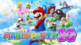 MARIO PARTY 10 - Gameplay em Português PT-BR