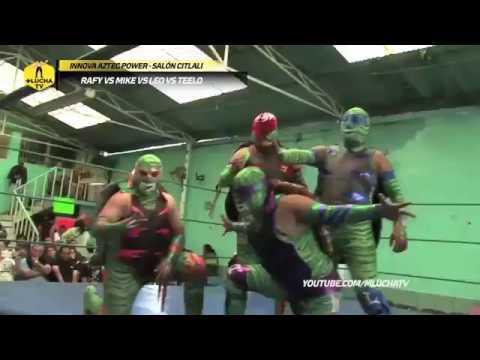 Cuadrangular de Tortugas Ninja en Innova Aztec Power