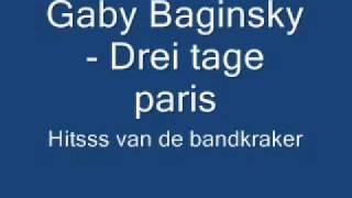 Gaby Baginsky - Drei Tage Paris