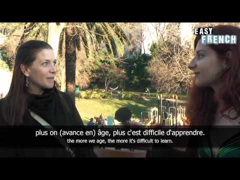 Easy French 21 - Les français sont-ils bons en langues? (I)