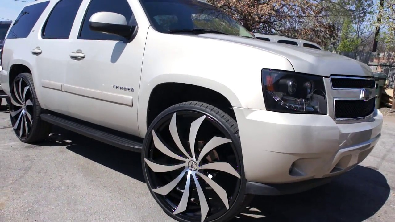 "Chevy Tahoe on 30"" Azara AZA-507 Wheels (Kuntry Boyz Car ..."