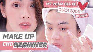 Đào Bá Lộc | Beginner Makeup Tutorial | Tips trang điểm tiết kiệm cho người mới tập makeup