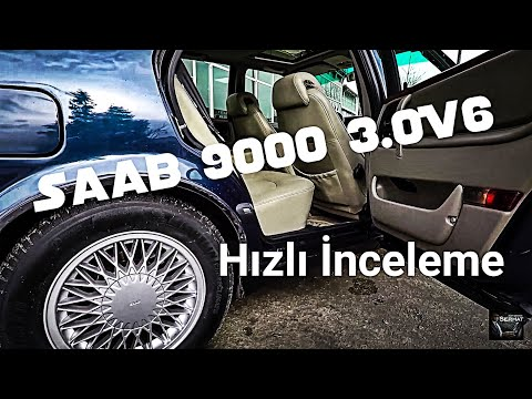 Saab 9000 3.0V6 Hızlı İnceleme