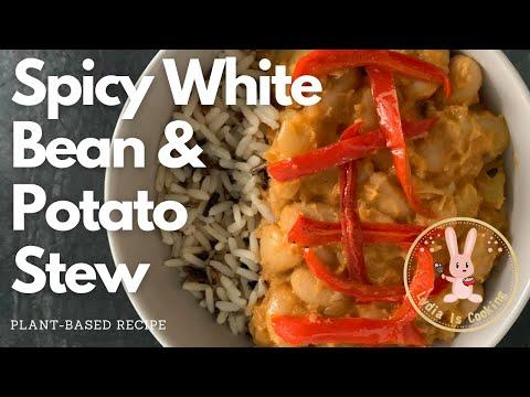 TASTY - Spicy White Bean and Potato Stew [Recipe] [Vegan] [Plant-based]