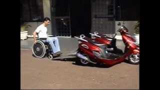 Road Chariot City Инвалидной Коляске Мотоцикла для Инвалидов | Мото Скутер для Инвалидов