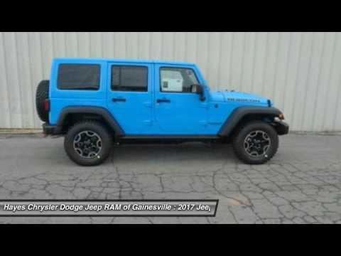 2017 jeep wrangler gainesville ga g736019 youtube. Black Bedroom Furniture Sets. Home Design Ideas