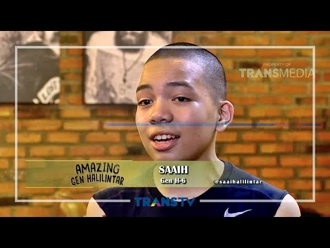 AMAZING GEN HALILINTAR - Muntaz Gak Mau Botak (05/06/16) Part 1/3