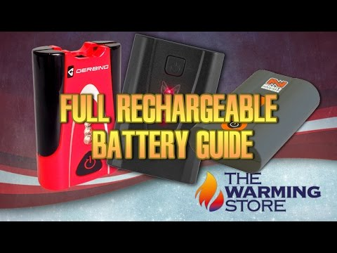 Full Lithium-Ion Rechargeable Battery Guide | The Warming Store