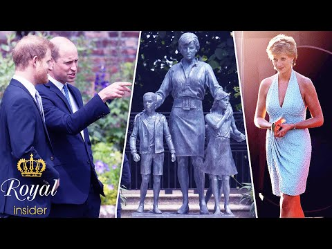 Meaning behind 3 children in the Princess Diana statue   Royal Insider