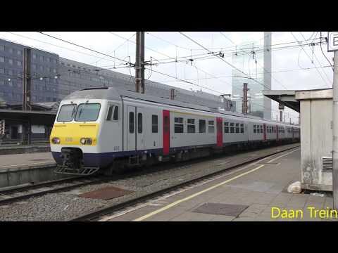 Treinen in Brussel-Zuid op 02/11/17